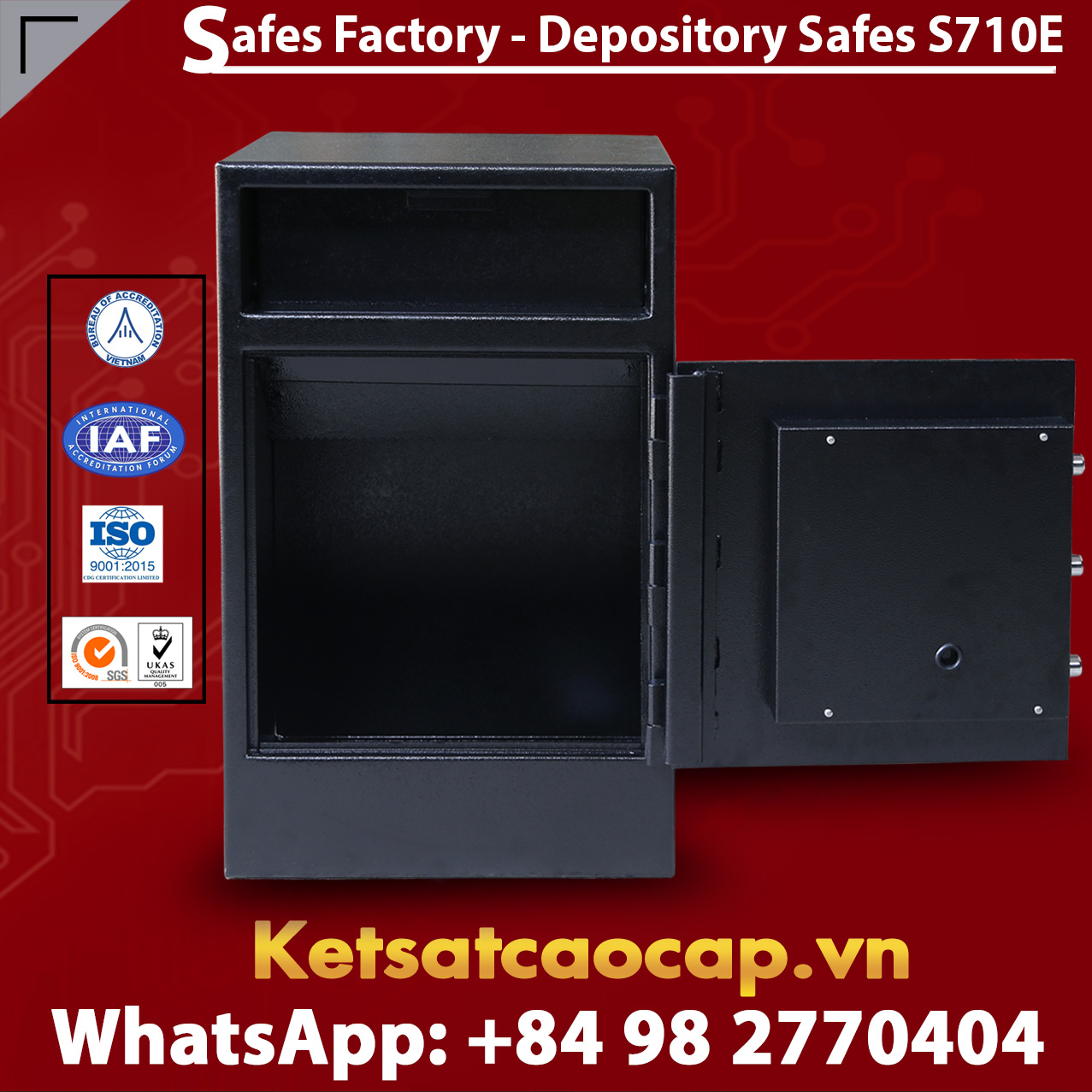 High-security Depository Safes S710E
