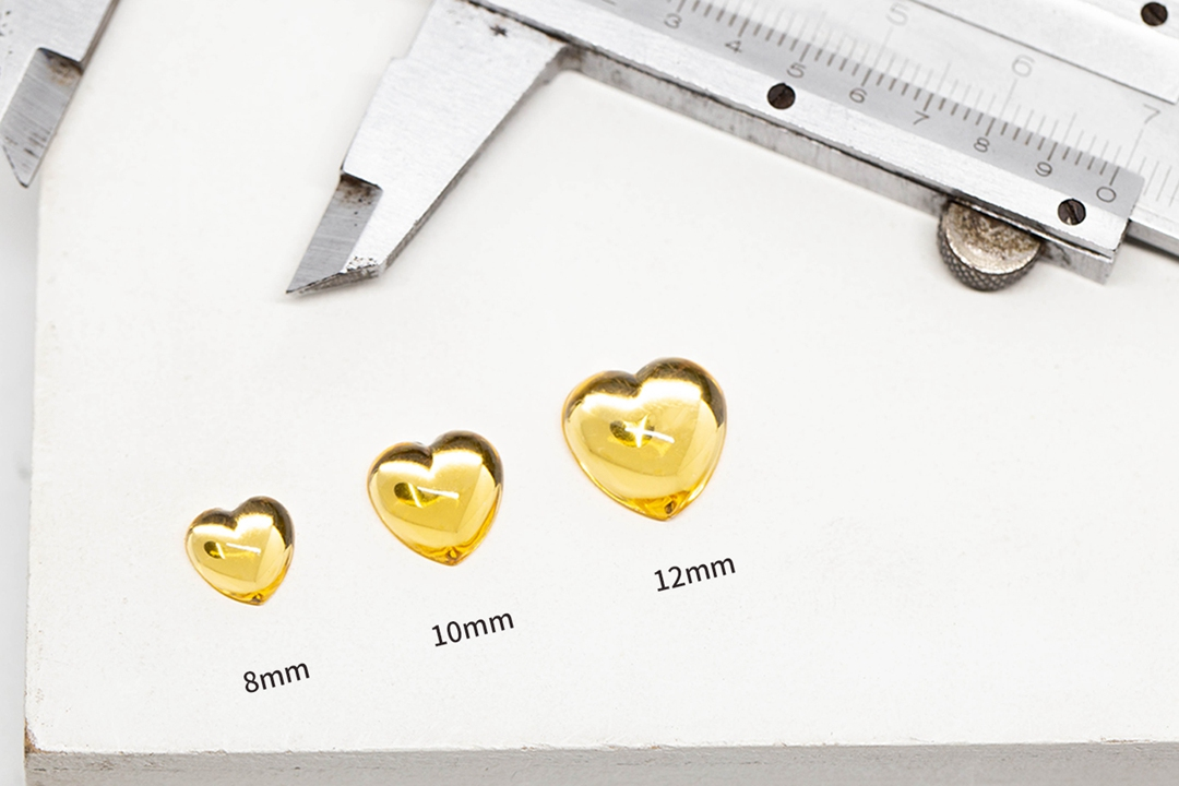 TERSEDIA DI Pesanan Kecil 8mm 10mm 12mm Datar Kembali Berbentuk Hati Batu Lebih Dari 30 Warna untuk Anting-Anting aksesoris aksesoris Rambut