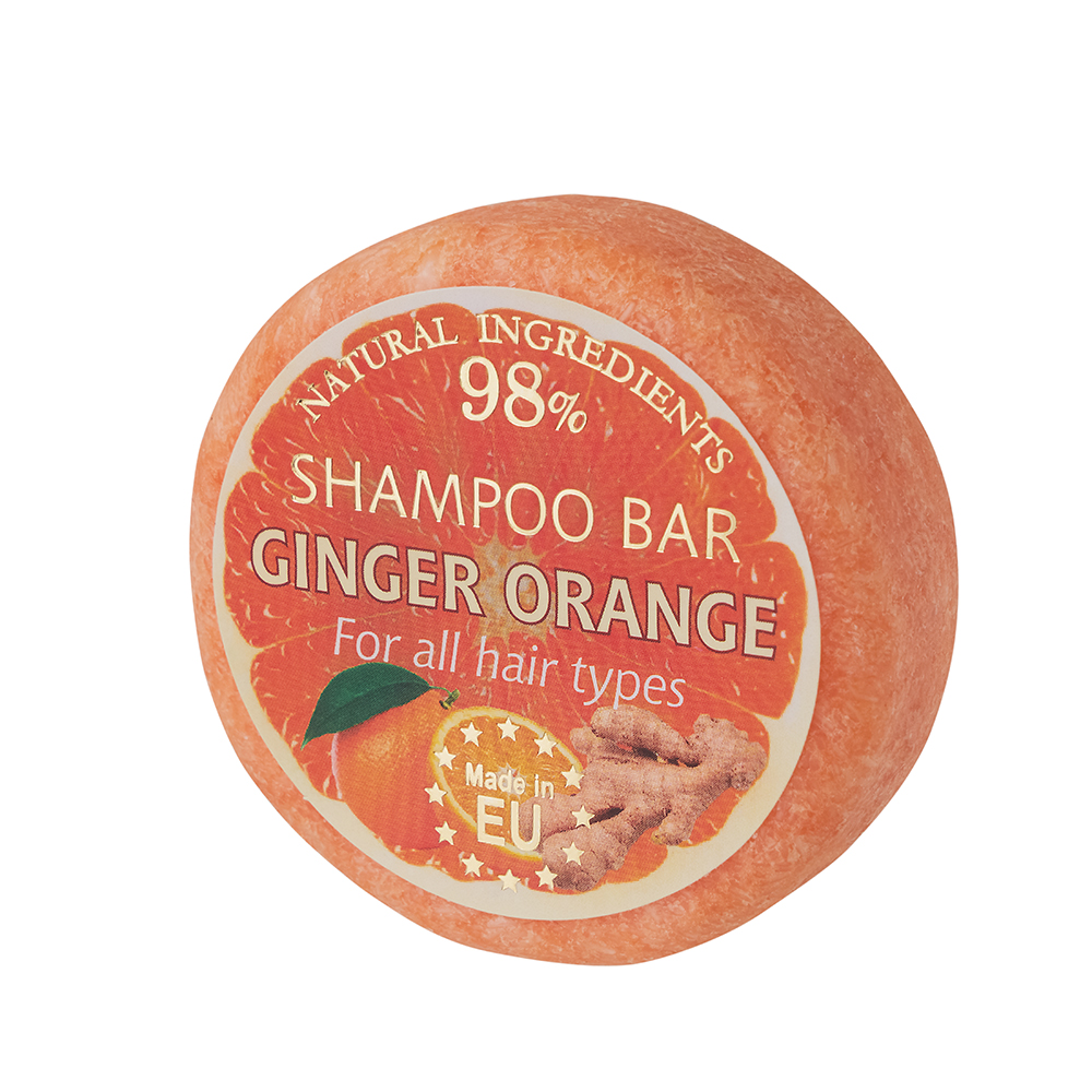Top Notch Quality Ginger Orange Hair Shampoo Bar for Private Label Importers