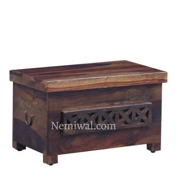 Wholesale wooden treasure chest, vintage storage box,antique wooden trunk for home decoration