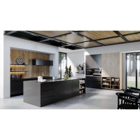 New Kitchen design for country houses warm kitchen cabinets