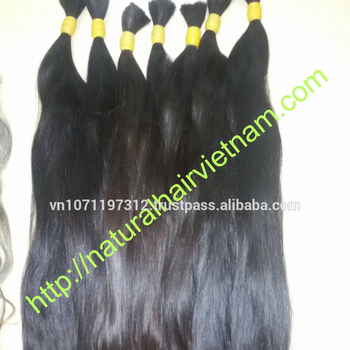 Natural hair Vietnam Export Import Company Limited supply virgin human hair extension factory price,high quality