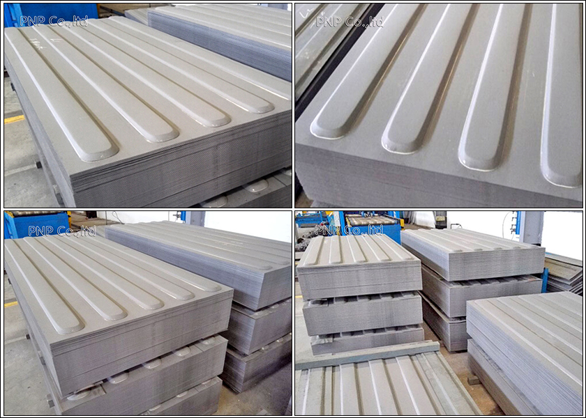 Shipping board Container roof panel 5 corrugation for dry Container roof panel