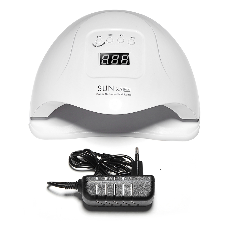 <strong>SUN</strong> X5 Plus UV LED Nail Dryer 54W Gel Polish Curing Lamp For Nails Manicure Tools