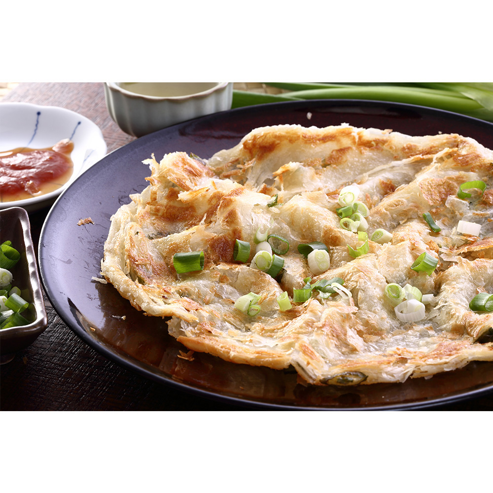 Multiple Awarded Certification Onion Pancake Frozen Food
