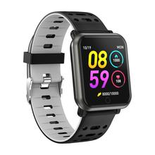 Nouveau Sport Fitness Montre Intelligente P11 Soutien Android IOS Fréquence Cardiaque Moniteur de Pression Artérielle <span class=keywords><strong>Message</strong></span> Push Multi <span class=keywords><strong>Options</strong></span> D'interface