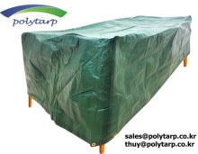 PE tarpaulin - table cover - Made in Vietnam by Korean company