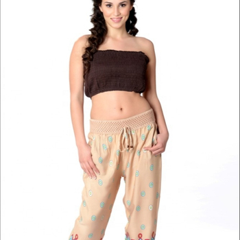 New Style trousers New Pattern Pantaloon Straight trousers Printed polyester trousers