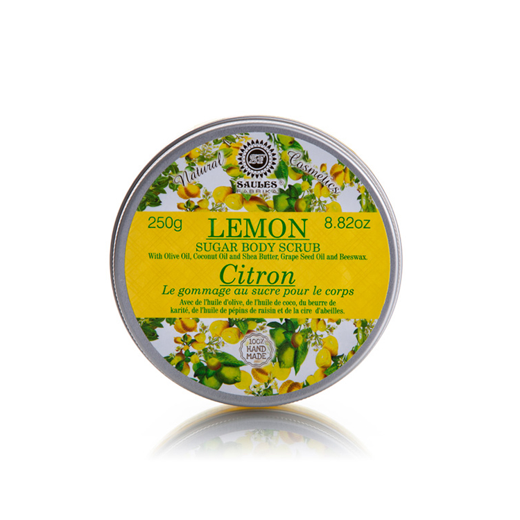 Most Reputed Private Label EU Supplier of Nourishing Lemon Sugar Body Scrub