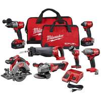 POWER TOOLS Milwaukees 2695-15 M18 18V Cordless Lithium-Ion Combo Tools
