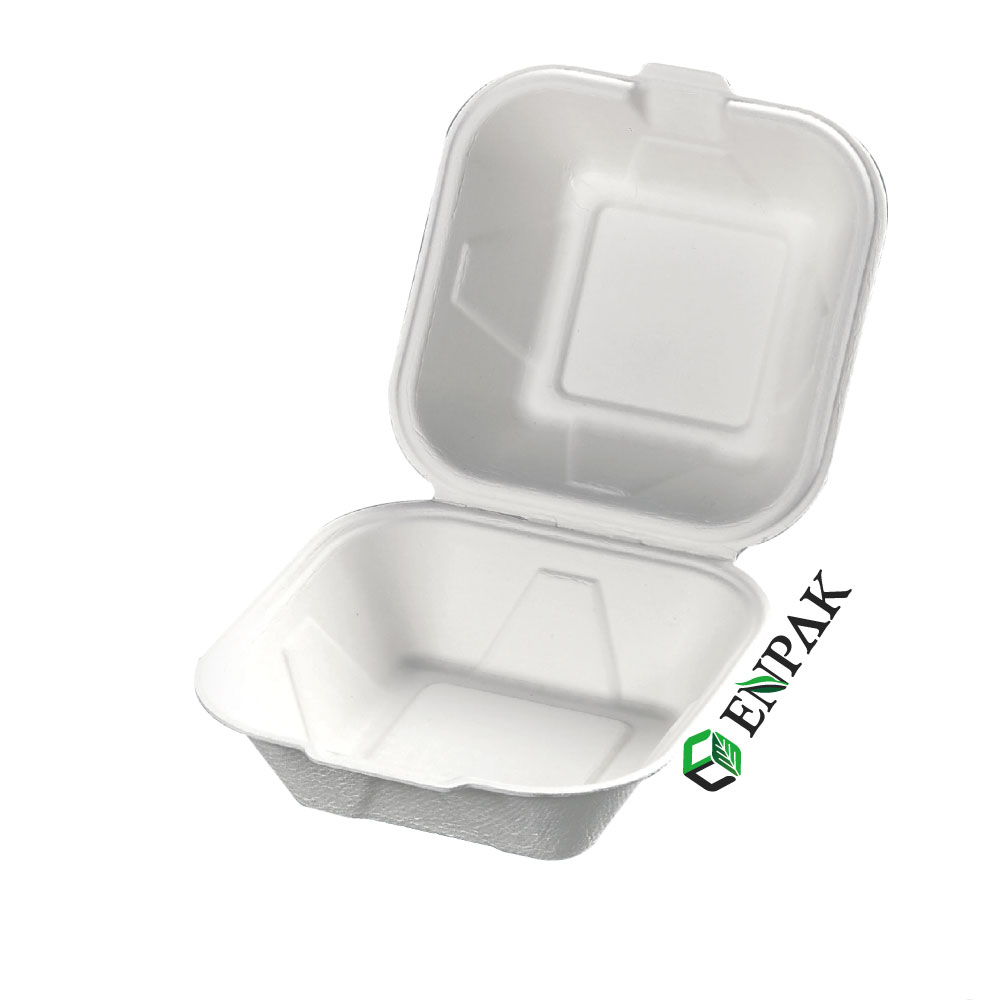 Disposable paper food packaging container paper takeway box lunch box paper