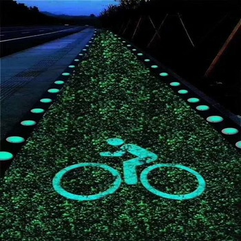 glow in the dark stone/gravel/pebble/for footpath