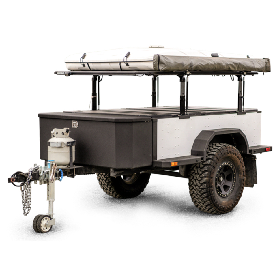 New Lightweight Tiny Camper Trailer for Couple (Cross-border)