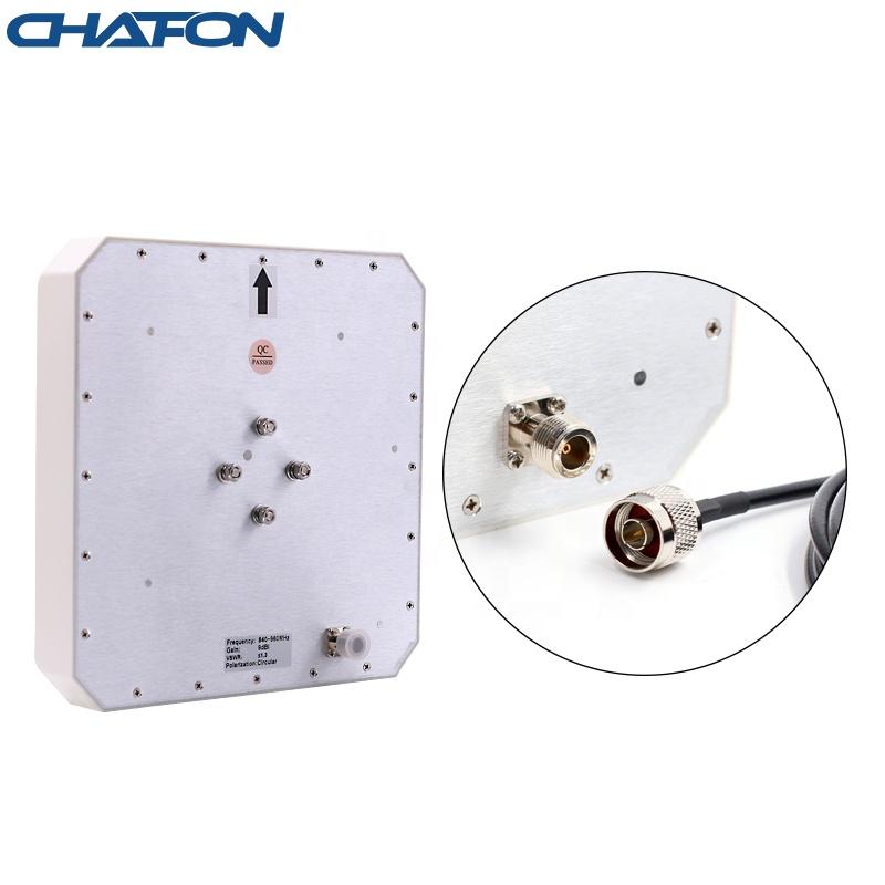 CHAFON ip67 waterproof circular polarization 10m long range rfid 9dbi uhf outdoor panel antenna for warehouse management timing