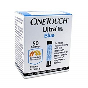 One Touch Ultra Blue Mail Order Test Strips, 50 Counts CT