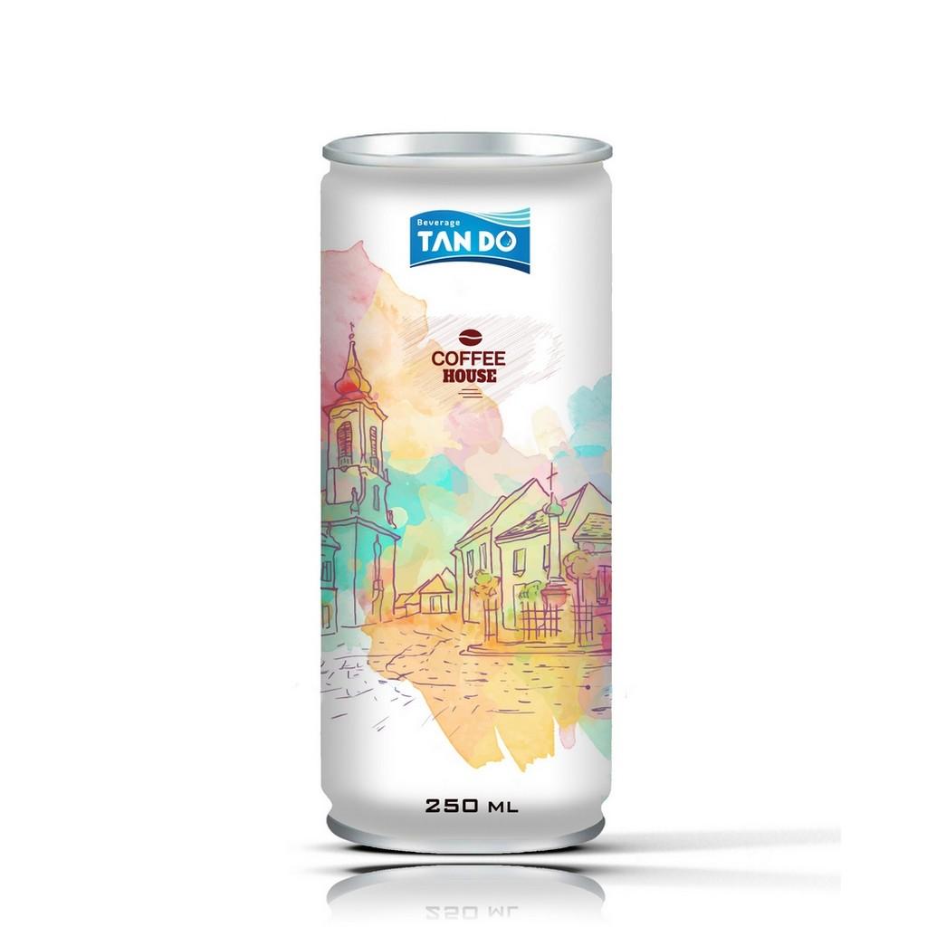 Coffee Aluminium 250ml Soft Drinks Vietnam