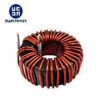 Customized 70uH 50A power choke toroidal coil inductor