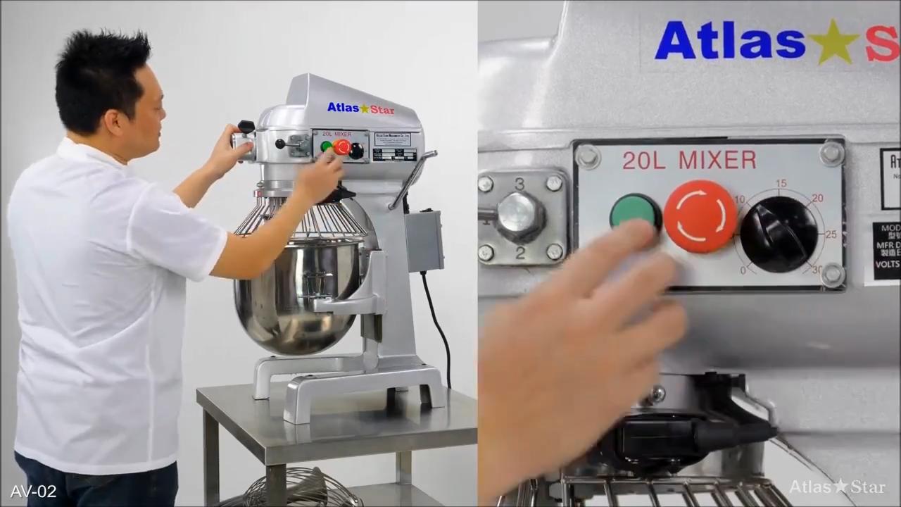 Mini mélangeur de pâte planétaire, machine à pétrir Top de Table, 20 litres, petits mélangeur de pâte à farine, pétrissage multifonctionnel 5kg, fabriqué à taïwan