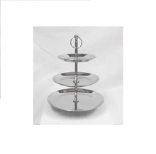 3 Tier Stainless Steel <span class=keywords><strong>Kue</strong></span> Stand