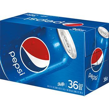 Pepsi Cola Canned Soda
