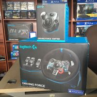 Best Product_LogitechDual-Motor Feedback G29 DrivINg Force G29 GamINg Racing Wheel PS&PC-Shifter Steering and Responsive Pedals