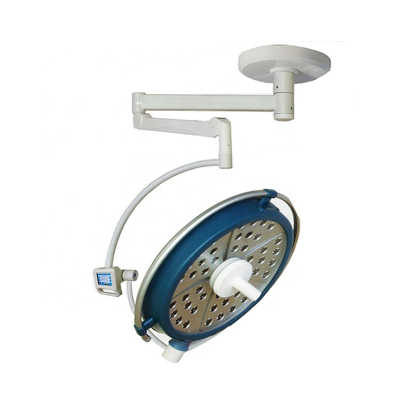 YUDA YDE500A Hospital Single Head Ceiling Mounted LEDSurgical Shadeless Illuminance ExamSpot Operating Lamp