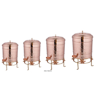 COOPER WATER COOLER / PURE COPPER WATER POT / PURE COPPER WATER STORAGE
