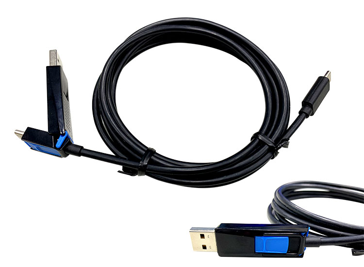 1 for all smart phone type C cable TO USB A+C