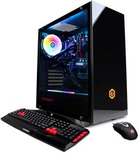 CyberpowerPC Gamer Xtreme VR משחקי מחשב, נוזל <span class=keywords><strong>מגניב</strong></span> Intel <span class=keywords><strong>Core</strong></span> i9-9900K 3.6GHz, NVIDIA GeForce RTX 2070 סופר 8GB, 16GB DDR4, 1T