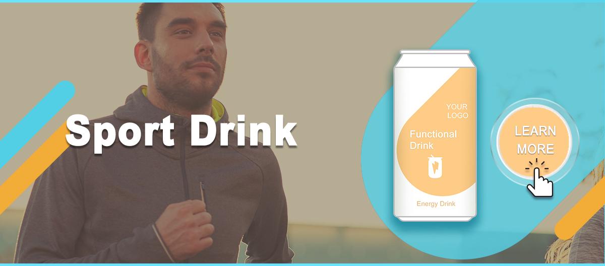 Boisson énergétique de Marque Privée Curcumine Vitamine B Complexe énergétique supplément de boisson Boisson Fonctionnelle D'ODM D'OEM