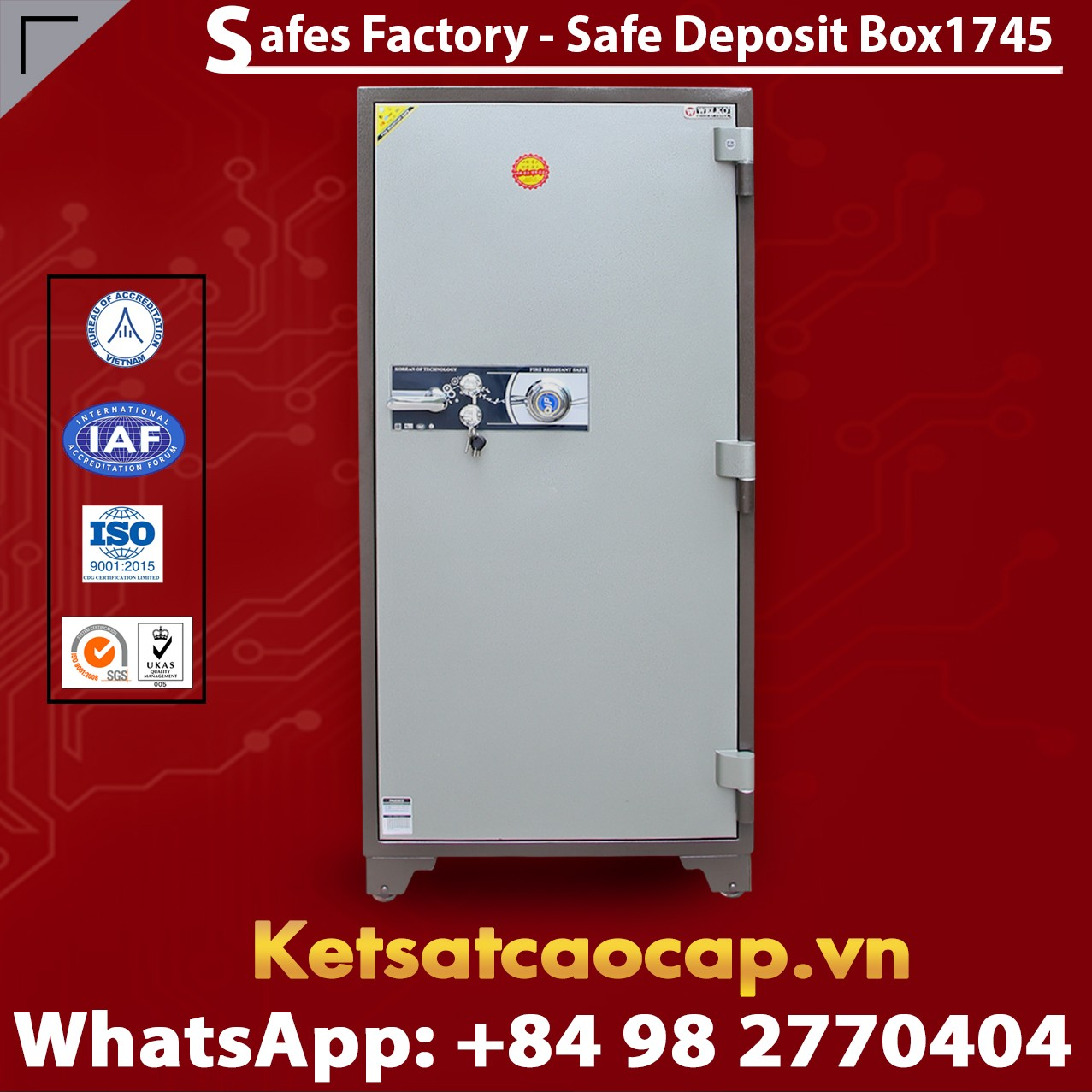 Bank Deposit Safes LX1745 Newest Design Secure For Bank