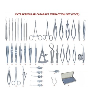 Cataract Surgical Instrument Set