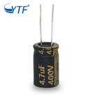 High Quality Long Life 8000hours Black Gold Aluminum Electrolytic Capacitors 400V 4.7uF
