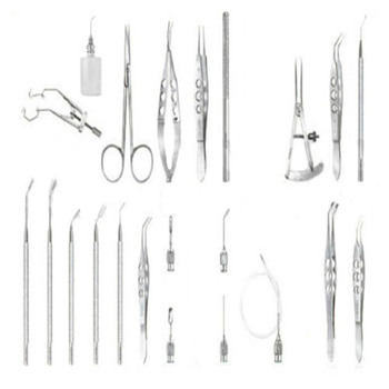 Cataract Set Of 22 Pieces Ophthalmic Eye Instruments OPHTHALMIC INSTRUMENTS MGI-OPTH-0364