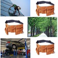 Real leather tool belt Work Bag Garden Tools