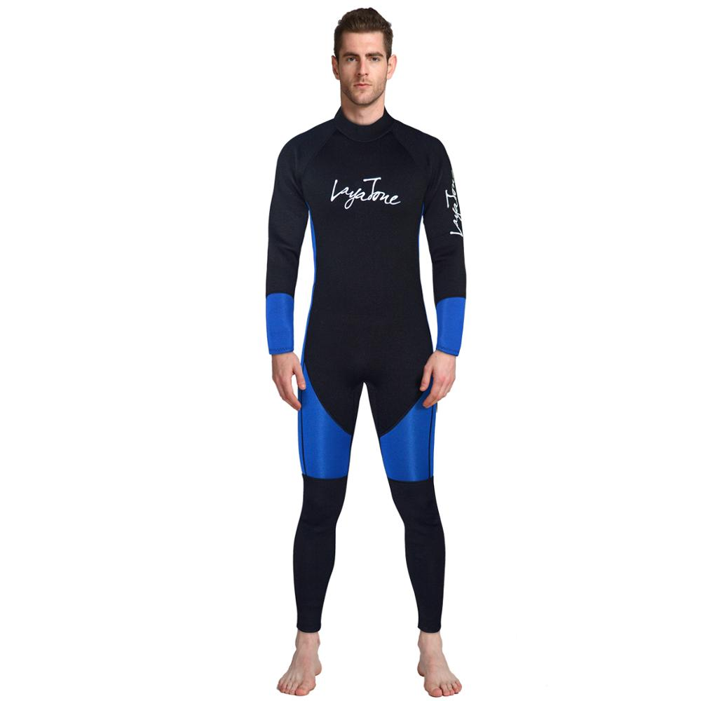 OEM service Factory direct sale Wetsuit full body scuba diving wetsuit 3mm neoprene for men