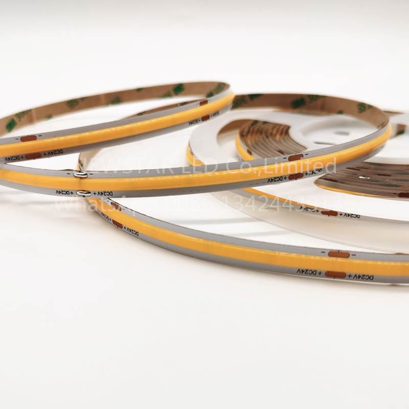 12W COB LED Strip Light 2700K Super quality 5 years warranty CE RoHs