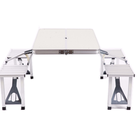 Foldable Picnic Dining Table And Chair Set