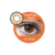 FreshTone 15mm Dolly Hazel Eyes soft cosmetic contact lens from South Korea at cheap factory  prices