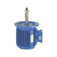 6 pole 3kw 4 pole 4kw three phase 2 speed electric motor