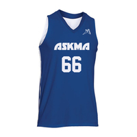 Basketball Reversible Jersey V Neck Low price with custom print and numbers