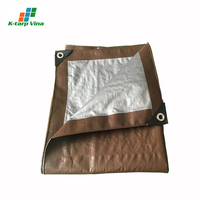 Wholesale Manufacturer Vietnam Tarpaulin Waterproof Eco Friendly Canvas Camping Tarp