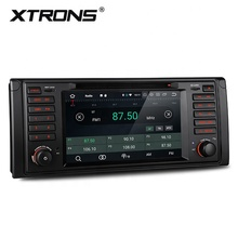 XTRONS 7 zoll Android 9.0 auto multimedia player für bmw E39 M5 E38 mit 4G RAM DVD RADIO WIFI BT