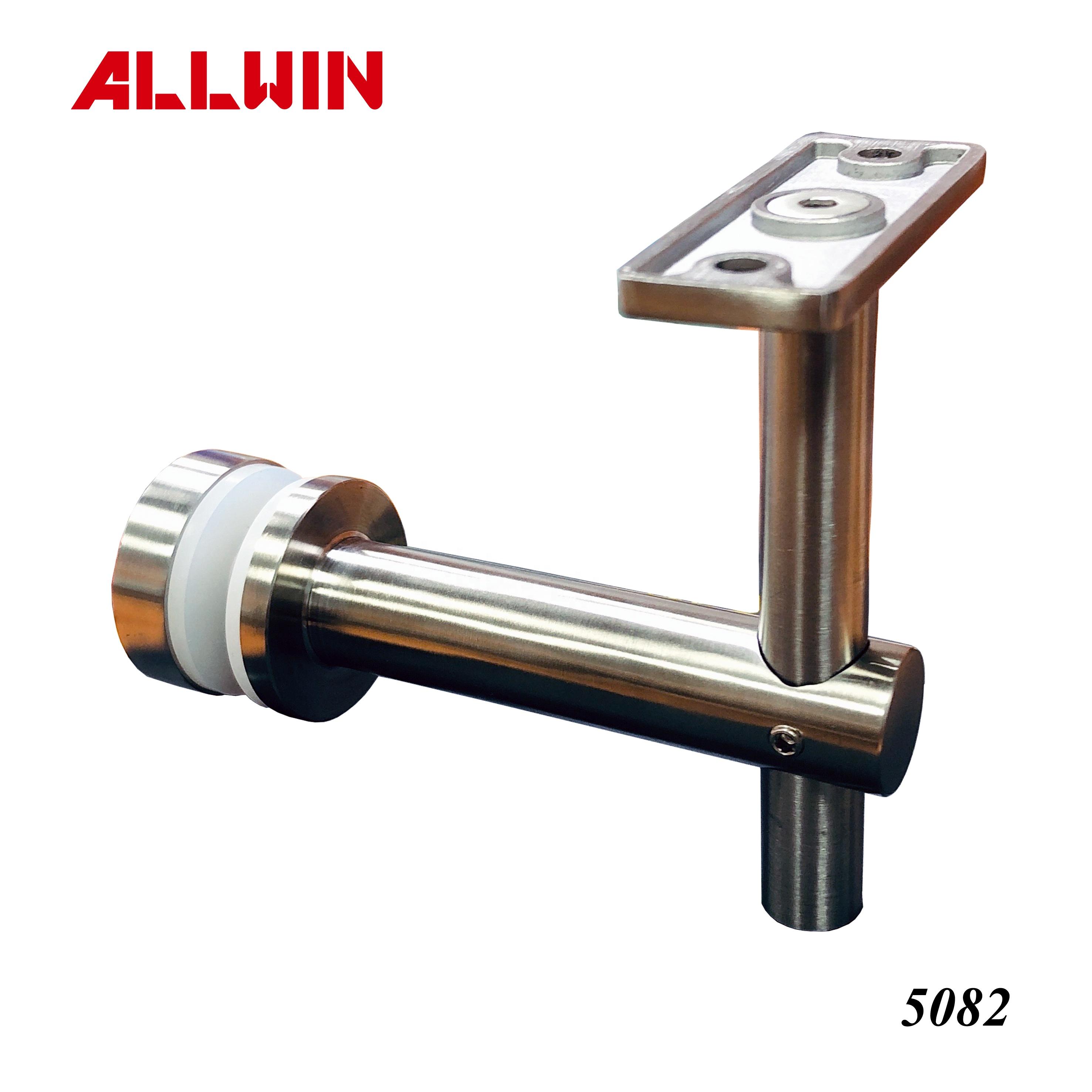 80mm distance Stainless Steel Mounted Adjustable Handrail Bracket