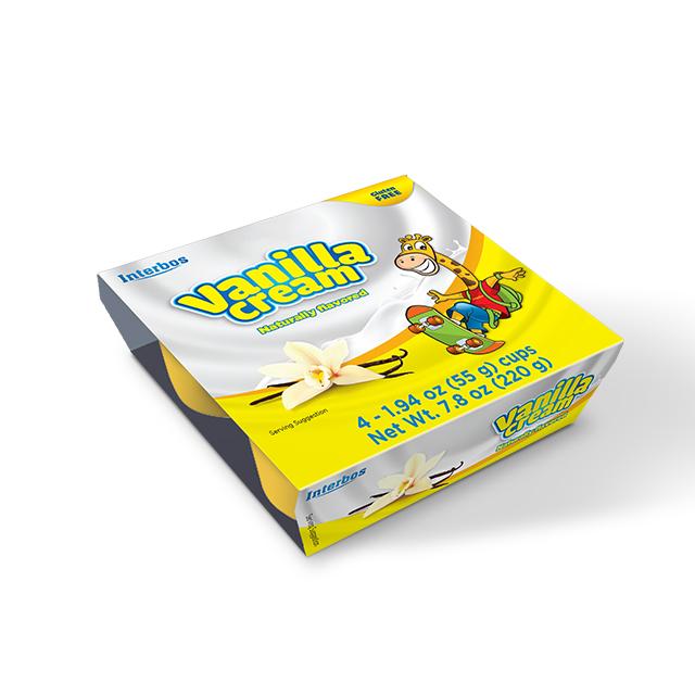 Best price Premium Quality Delicious Bulk Milk Cream 55 gram with vanilla flavor