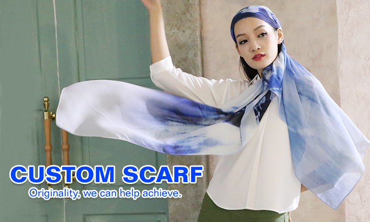Quality assurance best high color fastness square silk scarf headscarf