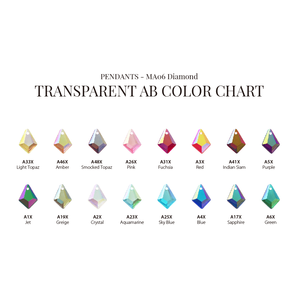 Hot-Selling New Designs AB Colorful Style 11mm 14mm Diamond Pendant for Sewing on Women's Clothes