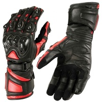 Leather motorbike riding protections racing Motorcycle gloves