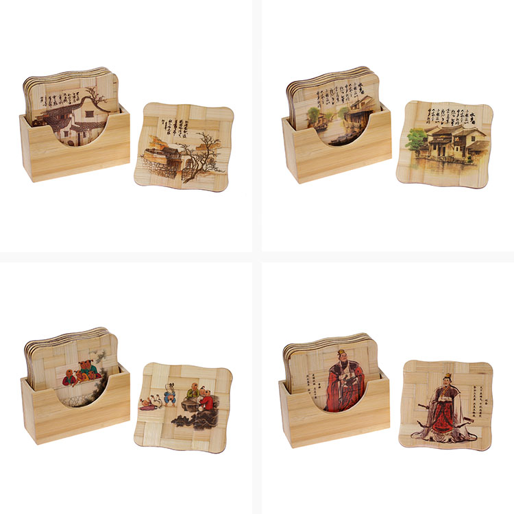 Factory cheap price wholesale bamboo placemats table plate mat