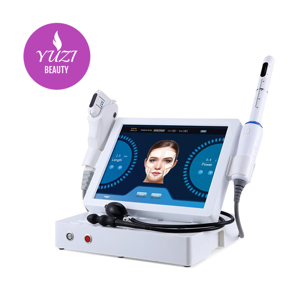 2020 YUZI Portable 2 in 1 Hifu vaginal tightening Focused Ultrasound Body Slimming Machine